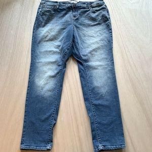 Torrid Blue Boyfriend Jeans Womens Size 18R